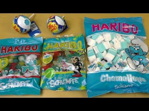 The Smurfs HARIBO | Smurfs Chupa Chups Surprise Figurines