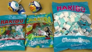 The Smurfs HARIBO | Smurfs Chupa Chups Surprise Figurines