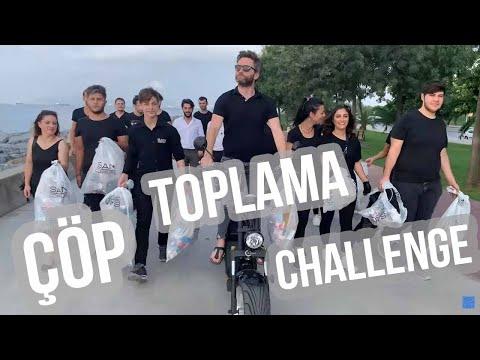 ÇÖP TOPLAMA CHALLENGE! (San Kuaför Pendik'ten Farkındalık Düellosu!)