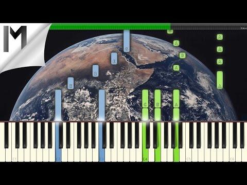 The Earth Prelude ~ Ludovico Einaudi ~ Original Piano Tutorial [MIDI/Synthesia]