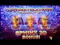 SPHINX 3D Slot Machine BONUSES Won   VERY NICE SESSION