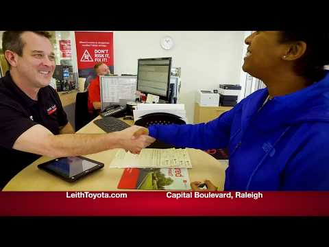 Leith Toyota Service Department