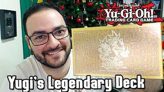 Yu-Gi-Oh TCG Unbox: YUGI'S LEGENDARY DECKS Melhor Produto com Exódia e Outros!