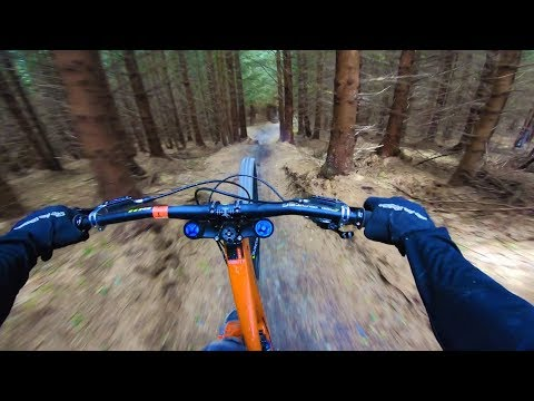 SICK DOWNHILL MTB SESSION!!!  * CRASH FOOTAGE!! *