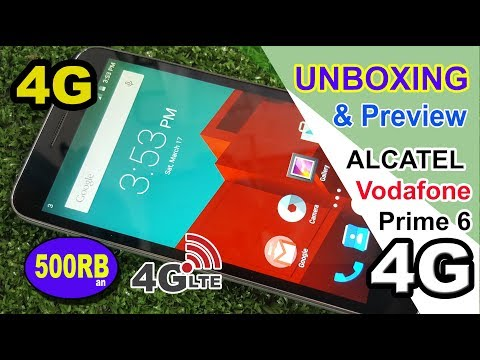Unboxing & Preview Alcatel Vodafone Smart Prime 6 INDONESIA !