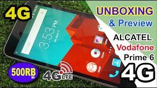 Unboxing & Preview Alcatel Vodafone Smart Prime 6 INDONESIA !