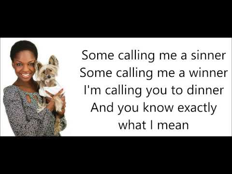 GLEE-Tightrope with lyrics