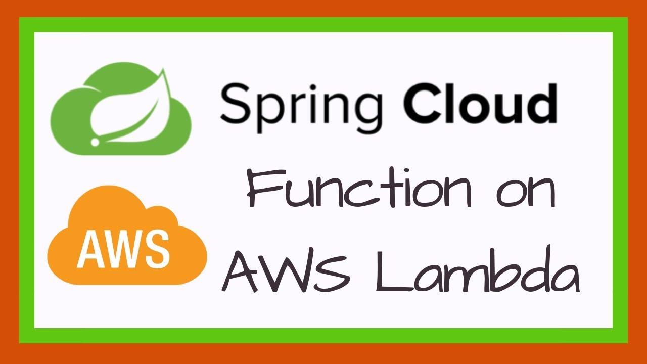 Spring Cloud Function on AWS Lambda using API Gateway | Tech Primers