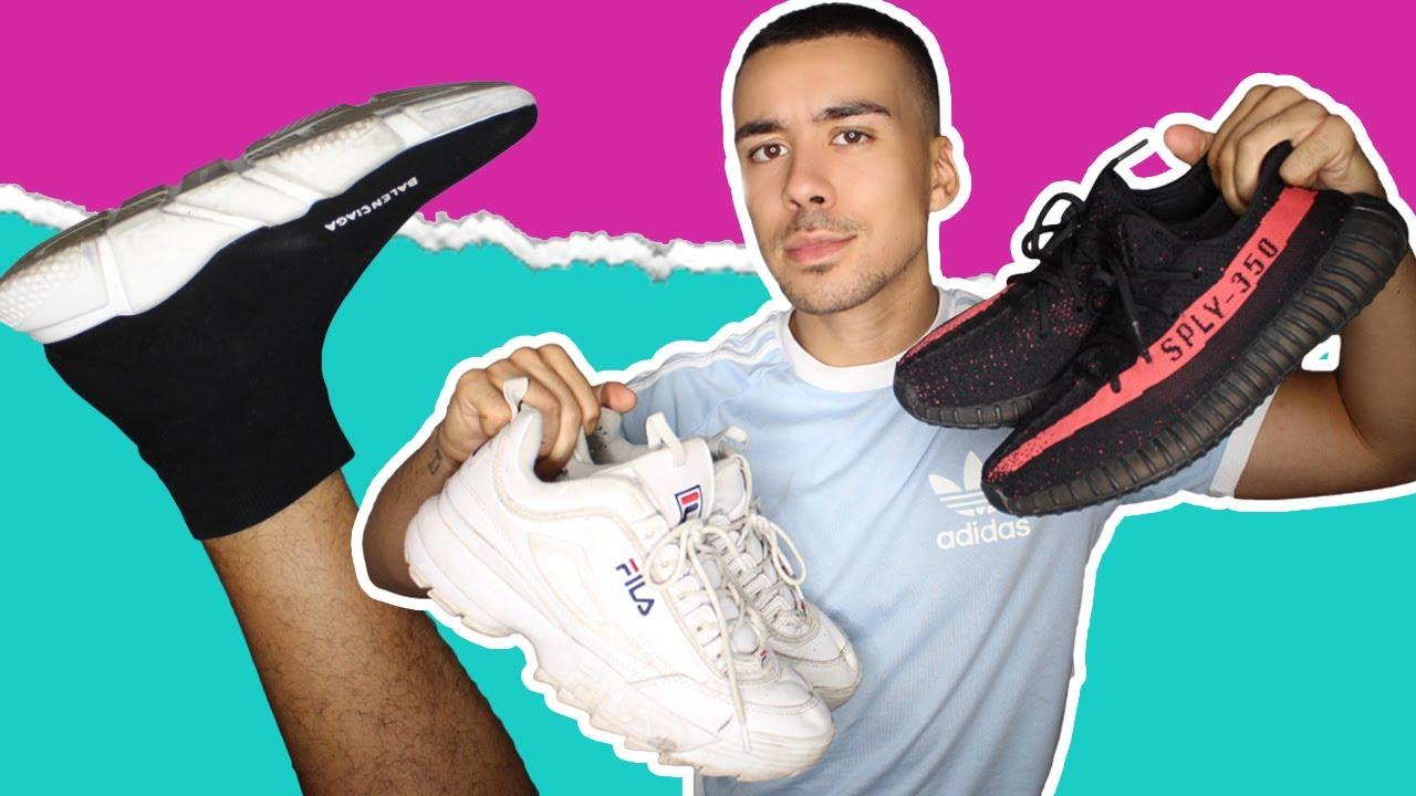 fila chaussure balenciaga
