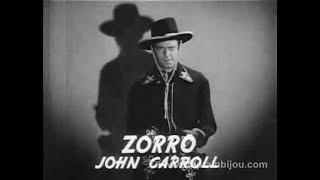 1937 ZORRO RIDES AGAIN - Trailer - Serial - John Carroll, Noah Beery Sr.
