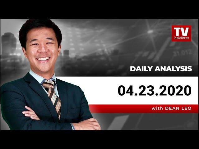 InstaForex Tagesanalyse für den 23. April 2020