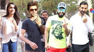 All Bollywood Celebs Voting At Mumbai