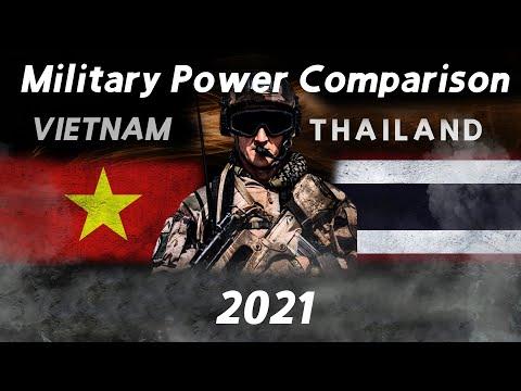 Vietnam vs Thailand military power comparison 2021 GFP [Military power ranking]