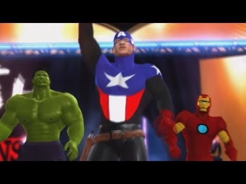 WWE '12: The AVENGERS vs POWER RANGERS