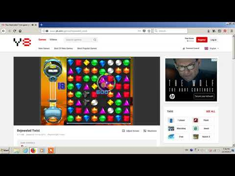 Bejeweled Twist Online Version - Levels 10 to 12 (Part of 12)