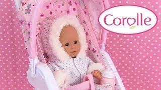 Corolle Mon Premier Poussette Poupon Baby Doll Stroller Vêtements Accessoires