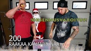 200 RAAKAA KANANMUNAA ft. Mika Toiviainen ja Joulupukki