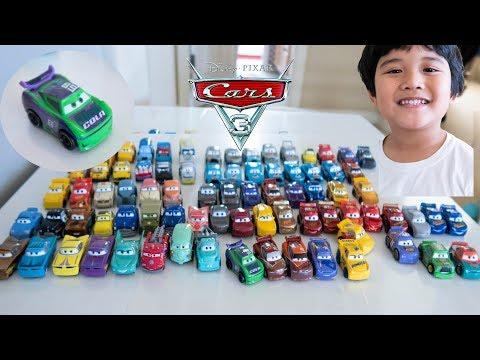 Disney Pixar Cars 3 Mini Racers Sterling And H.J Hollis N20 Cola Car 15 Pack