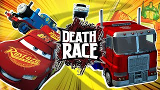 Optimus Prime VS Thomas the Tank Engine? | DEATH RACE