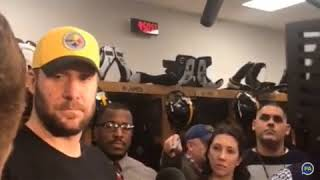 Ben Roethlisberger talks Retirement after loss to Jaguars