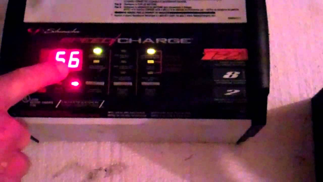 How To Charge A Car Battery Using A Battery Charger Youtube