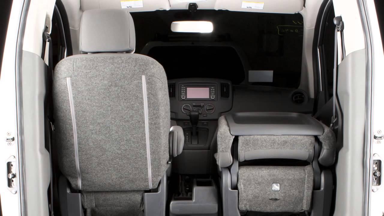e4dafac839f81a 2014 Nissan NV200 - Seat Adjustments - YouTube