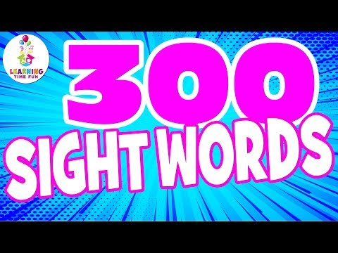 sight-words-for-children-|-high-frequency-words-|-learning-time-fun-|-popcorn-words