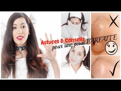 5 Gestes Beauté à Faire Absolument pour une peau nette | astuces - points noirs, boutons, pores ...