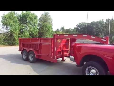 6x12 Landscape & Construction Dump Trailer