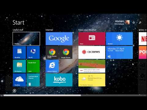 Windows 8.1 Back To Basics How To Access Control Panel And PC Settings