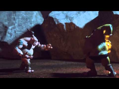 Ogre Fight By Derek Henriques With Maxwell Render