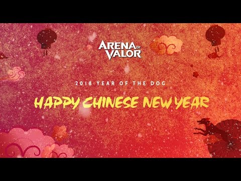 Happy Chinese New Year - Lu Bu, Zuka and Violet | New Spring Festival Skins + UI - Arena of Valor
