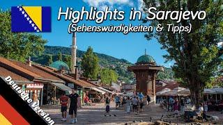 Sarajevo, Bosnien & Herzegowina (Balkan Roadtrip, Folge 06)