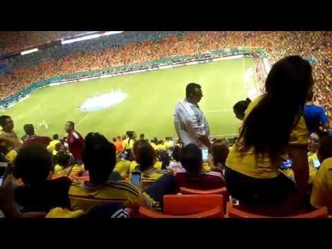 COLOMBIA  VER  BRASIL MIAMI 2014