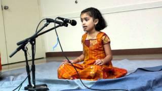 Ambiga naa Ninna Nambide By Shreya at Tyagaraja Aradhane 2012