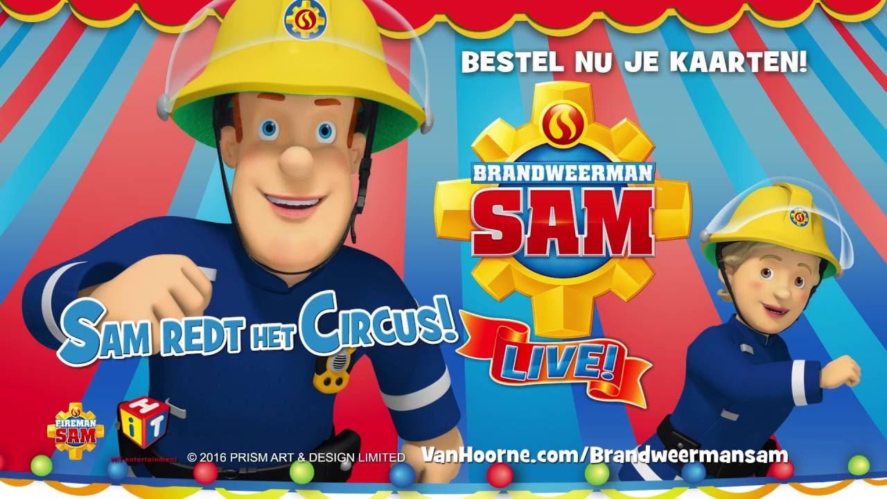 Top Brandweerman Sam Iive! - Sam redt het Circus - Trailer (2016-2017 @JJ61