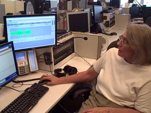 AP radio reporter breaks down her job