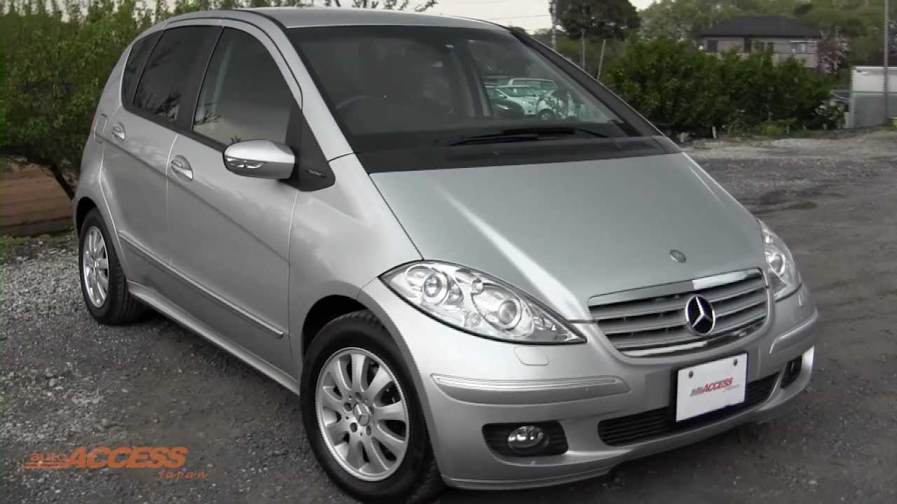 2005 mercedes benz a170 for sale direct from japan auto access japan youtube. Black Bedroom Furniture Sets. Home Design Ideas