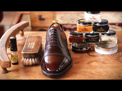 THE ESSENTIAL SHOE SHINE KIT: WHAT I USE TO SHINE SHOES