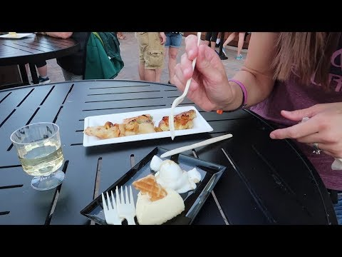 Epcot Flower and Garden Festival 2018 | Food Booth Sampling