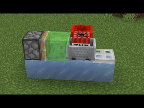 The fastest way to travel in Minecraft