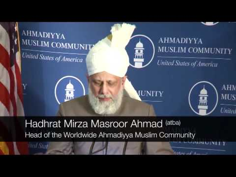 World Peace Leader delivers Keynote Address at Capitol Hill in USA