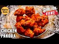Download Video CHICKEN PAKORA | STREET STYLE CHICKEN PAKORA | CHICKEN PAKODA RECIPE MP4,  Mp3,  Flv, 3GP & WebM gratis