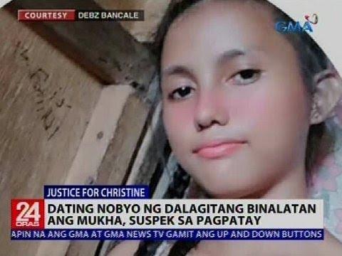 24 Oras: Dating nobyo ng babaeng binalatan, suspek sa pagpatay