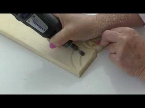 How To Carve a Rose (simple method of carving)