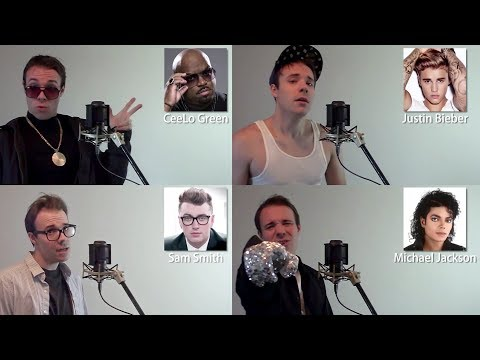 ONE GUY, 22 VOICES Sam Smith, Michael Jackson, Bruno Mars, iFunny Famous Singer Impressions