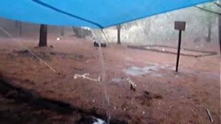 La Lluvia en El Terrero, Minatitlán, Colima