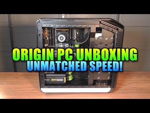 Origin PC Unboxing & Review - Fastest Gaming PC Ever?! | SLI EVGA GTX 980, Intel i7 5960X