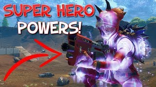 """NEW """"Super Powers"""" How to get POWERS! - Fortnite Battle Royale Live PS4 Gameplay"""