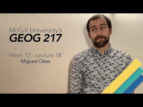 GEOG 217 - Migrant Cities